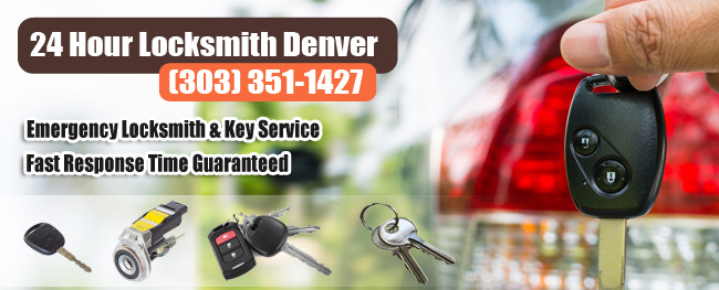 24 Hour Locksmith Denver Banner